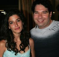 Tania Raymonde and Joel Michaely at the Writers Guild of America.
