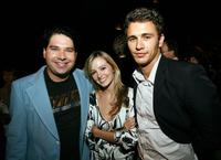 Joel Michaely, Ahna O'Relly and James Franco at the after party of the premiere of