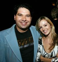 Joel Michaely and Ahna O'Relly at the after party of the premiere of
