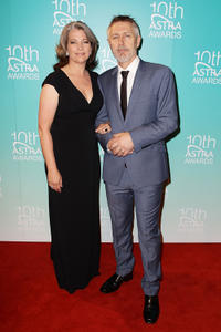 Kerry Fox and Geoff Morrell at the 10th Annual Astra Awards in Sydney.