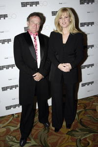 Bonnie Hunt and Robin Williams at the San Francisco International Film Festival awards.