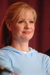 Bonnie Hunt at the press conference for the film