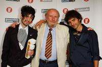 Joshua Beahan, Bill Hunter and Ruwan de Silva at the Inside Film (IF) Awards.