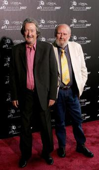 Michael Caton and Bill Hunter at the L'Oreal Paris 2007 AFI Awards Dinner.