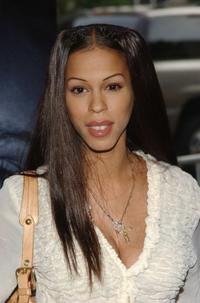 Heather Hunter at the premiere of