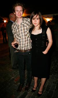 Mark Rendall and Ellen Page at the Fox Searchlight party during the Toronto International Film Festival 2007.