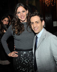 Jennifer Garner and Jason Winer at the New York premiere of