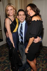 Julie Bowen, Jason Winer and Sofia Vergara at the 69th Annual Peabody Awards.