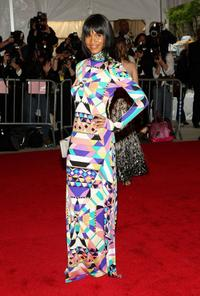 Joy Bryant at the Metropolitan Museum of Art Costume Institute Gala.