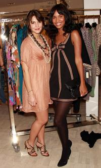 Margherita Maccapani Missoni and Joy Bryant at the celebration for Margherita Maccapani Missoni's Fall 2008 Collection.