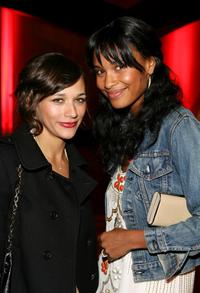 Rashida Jones and Joy Bryant at the Inaugural Avant-Garde Gala hosted by W Magazine and LACMA.