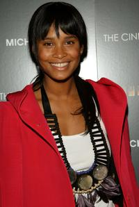 Joy Bryant at the screening of