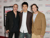 Roberto Sanchez, Rintaro Sawamoto and Matthew Fling at the AFI FEST 2010 in California.