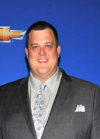 Billy Gardell at the CBS event