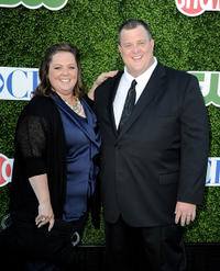 Melissa McCarthy and Billy Gardell at the CBS, Showtime, CW Summer TCA party in California.