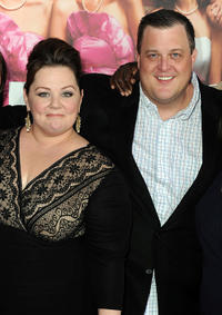 Melissa McCarthy and Billy Gardell at the California premiere of