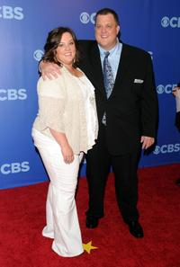Melissa McCarthy and Billy Gardell at the 2010 CBS UpFront.