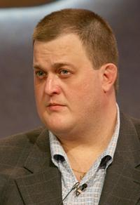 Billy Gardell at the NBC executive question and answer segment of Television Critics Association Press Tour.