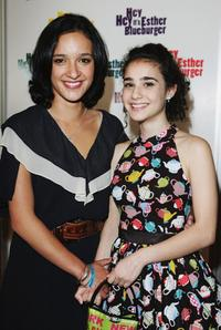 Keisha Castle-Hughes and Danielle Catanazaiti at the Australian premiere of