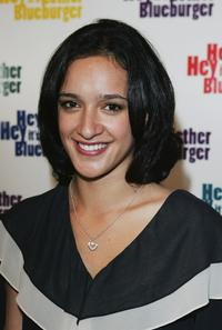 Keisha Castle-Hughes at the Australian premiere of