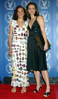 Keisha Castle-Hughes and Kristin Davis at the 56th Annual DGA Awards.