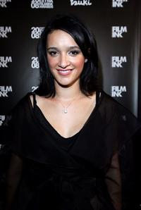Keisha Castle-Hughes at the 2008 Movie Extra FilmInk Awards.