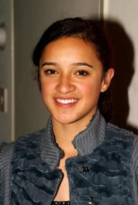 Keisha Castle-Hughes at the cocktail reception to celebrate New Zealand Filmmarkers and the film