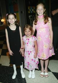 Lydia Jordan, Cassidy Hinkle and Gianna Beleno at the special VIP screening of