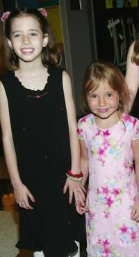 Lydia Jordan and Cassidy Hinkle at the special VIP screening of