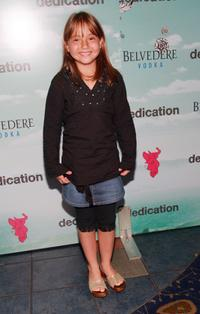 Cassidy Hinkle at the New York premiere of