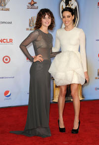 Sarah Ramos and Aubrey Plaza at the 2011 NCLR ALMA Awards in California.