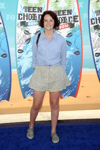 Sarah Ramos at the 2010 Teen Choice Awards in California.