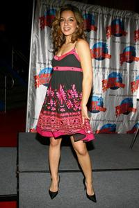 Vanessa Lengies at the Planet Hollywood.