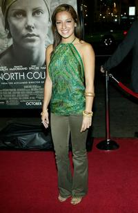 Vanessa Lengies at the premiere of