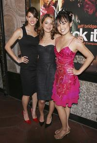 Missy Peregrym, Vanessa Lengies and Nikki Soohoo at the screening of