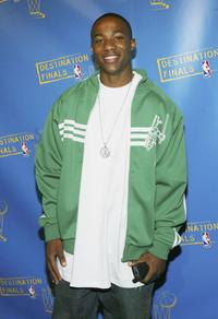 Arlen Escarpeta at the Destination Finals NBA party.