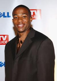 Arlen Escarpeta at the TV Guide's Second Annual Emmy after party.