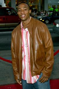 Arlen Escarpeta at the premiere of