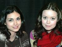 Morena Baccarin and Summer Glau at the Grand Slam XIV: The Sci-Fi Summit.