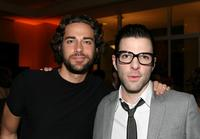 Zachary Levi and Zachary Quinto at the Alzheimer's Association's 16th Annual