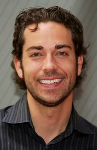 Zachary Levi at the NBC Upfronts.