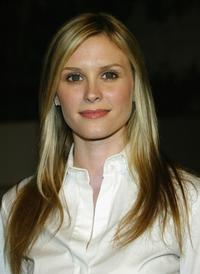Bonnie Somerville at the NYPD season twelve wrap party.