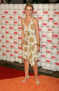 Bonnie Somerville at the Fox All-Star Television Critics Association party.