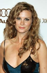 Bonnie Somerville at the 14th Annual Elton John Academy Awards viewing party.