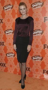 Bonnie Somerville at the FOX Fall Casino party.
