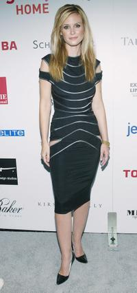 Bonnie Somerville at the Hollywood Style Awards.