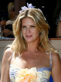 Rachel Hunter at the Lavazza marquee on the second day of the Melbourne Cup Carnival 2007.