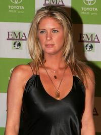 Rachel Hunter at the 14th Annual Environmental Media Awards.