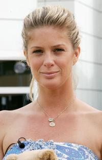 Rachel Hunter at the Sydney Children's Hospital at Westmead ahead of the fundraising evening.