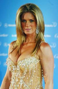 Rachel Hunter at the Laureus World Sports Awards.